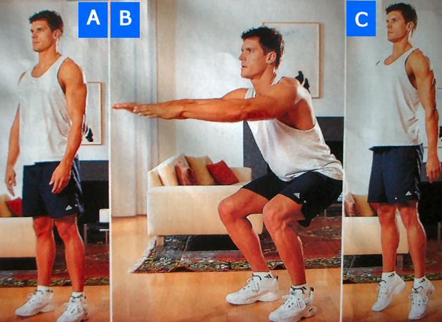 Rutinas de ejercicio sin pesas y sin aparatos taringa for Aparatos de ejercicio